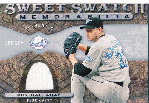 Photo of 2009 Sweet Spot Swatches #RH Roy Halladay