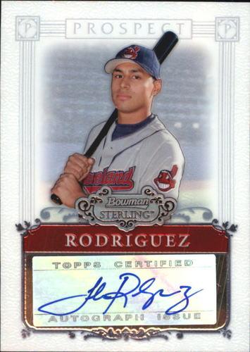 Photo of 2006 Bowman Sterling Prospects #JR Joshua Rodriguez AU A