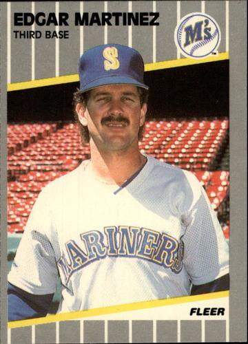 Photo of 1989 Fleer Glossy #552 Edgar Martinez
