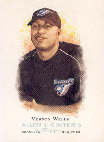 Photo of 2006 Topps Allen and Ginter #4 Vernon Wells