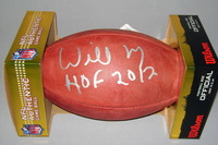 HOF - SAINTS WILLIE ROAF SIGNED AUTHENTIC FOOTBALL