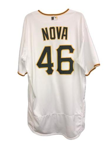 Photo of Ivan Nova Game-Used Jersey - 6.0 IP, 0 ER, Winning Pitcher