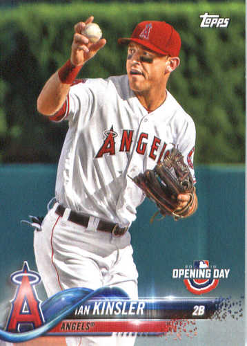 Photo of 2018 Topps Opening Day #163 Ian Kinsler
