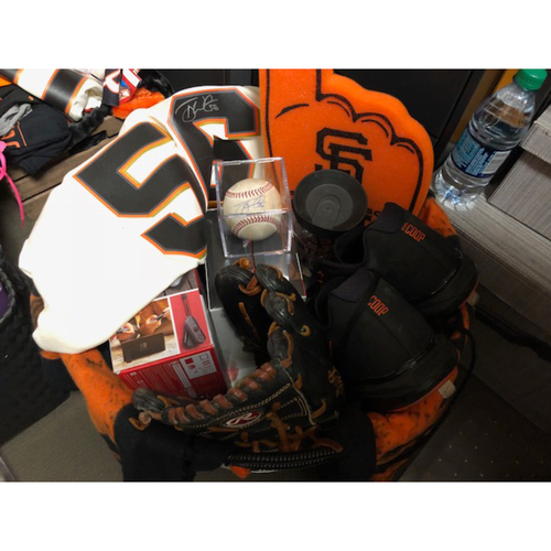 "Photo of Giants Wives Auction: Tony Watson ""Favorite Things"" Basket"