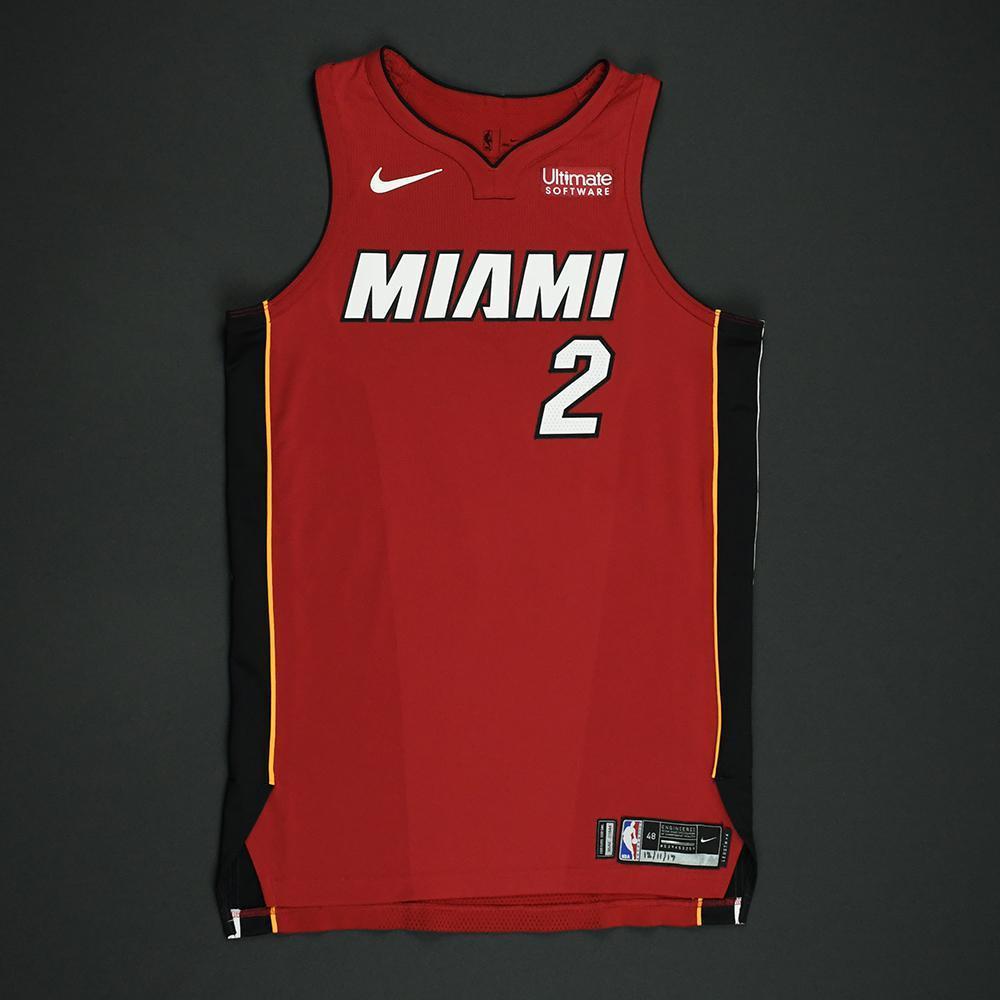 Wayne Ellington - Miami Heat - Game-Worn 'Statement' Jersey - 2017-18 Season