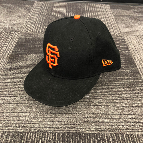 Photo of San Francisco Giants - 2018 Game Used Cap worn by #13 Will Smith on 9/30/18 vs. LAD - Size 7 5/8