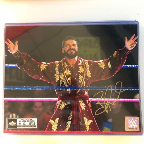 Photo of Bobby Roode SIGNED 8 x 10 Limited Edition WrestleMania Photo (Random Number)