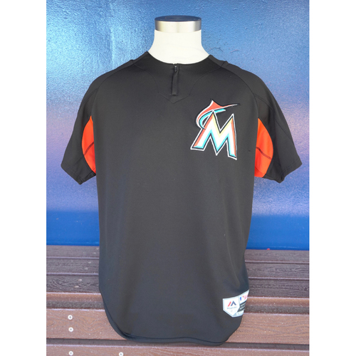 Photo of Team-Issued Batting Practice Jersey: J.T. Realmuto #11 - 2018 Season - Size: XL