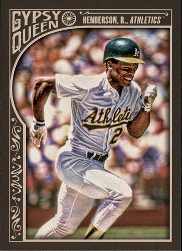 Photo of 2015 Topps Gypsy Queen #190 Rickey Henderson