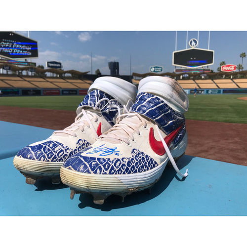 Photo of Cody Bellinger Autographed Cleats