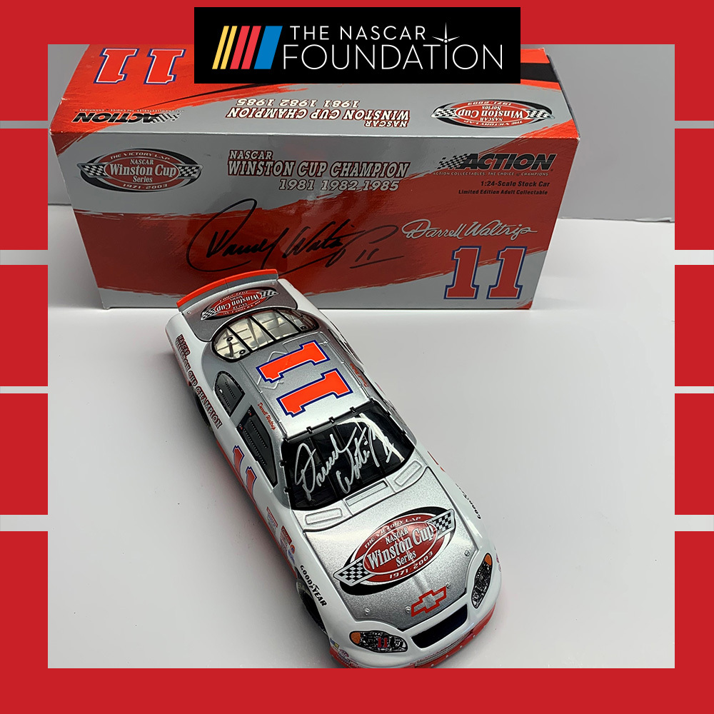 NASCAR's Darrell Waltrip Autographed Diecast!