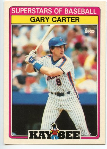 Photo of 1989 Kay-Bee #4 Gary Carter