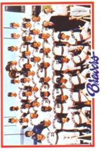 Photo of 1978 Topps #328 Milwaukee Brewers CL