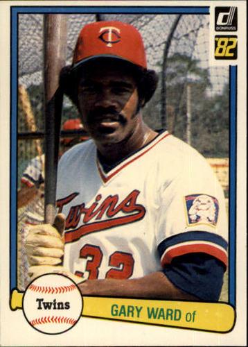 Photo of 1982 Donruss #571 Gary Ward