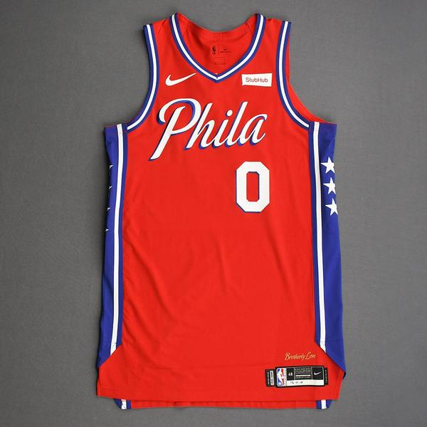 Image of Josh Richardson - Philadelphia 76ers - Game-Worn Statement Edition Jersey - 2019-20 Season