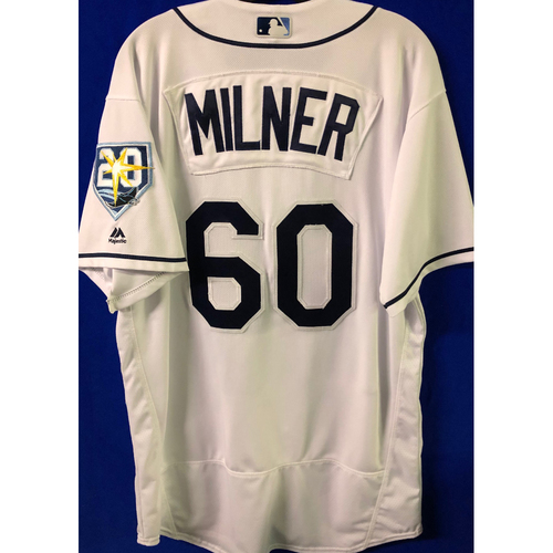 Photo of 20th Anniversary Game Used Jersey: Hoby Milner (5 Games)