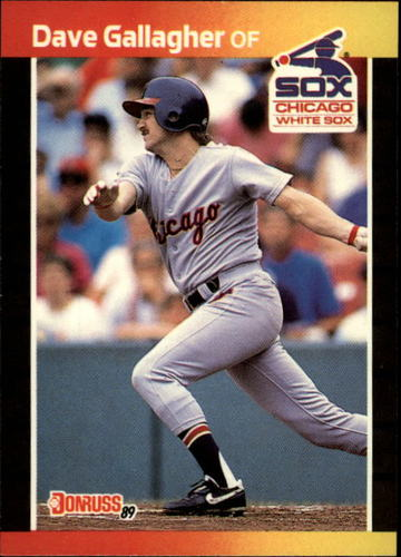 Photo of 1989 Donruss #384 Dave Gallagher