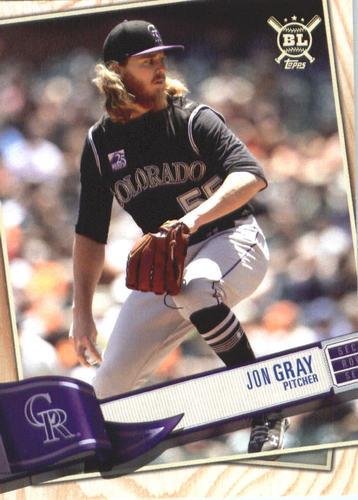 Photo of 2019 Topps Big League #186 Jon Gray
