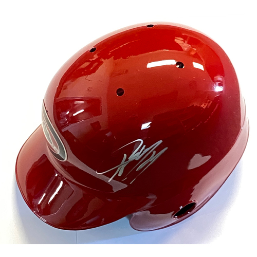 Photo of Ketel Marte Autographed Diamondbacks Batting Helmet