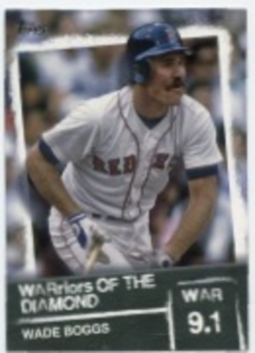 Photo of 2020 Topps Warriors of the Diamond #WOD50 Wade Boggs