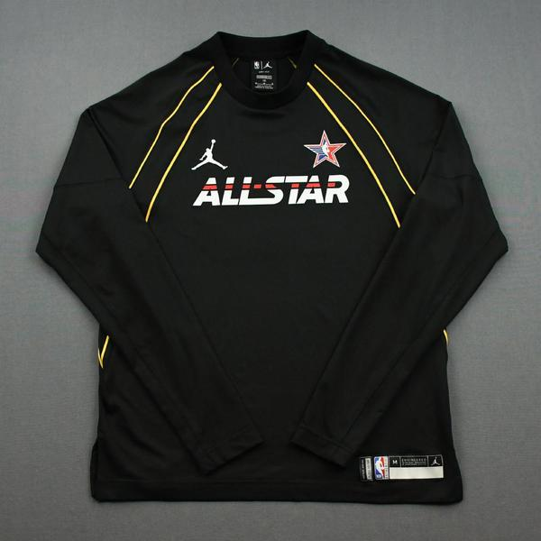 Image of Mike Conley - Game-Worn 2021 NBA All-Star Long-Sleeved Shooting Shirt