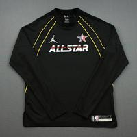 Mike Conley - Game-Worn 2021 NBA All-Star Long-Sleeved Shooting Shirt