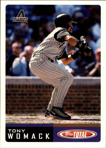 Photo of 2002 Topps Total #797 Tony Womack
