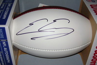 NFL - GIANTS EVAN ENGRAM SIGNED PANEL BALL