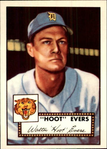 Photo of 1983 Topps 1952 Reprint #222 Hoot Evers
