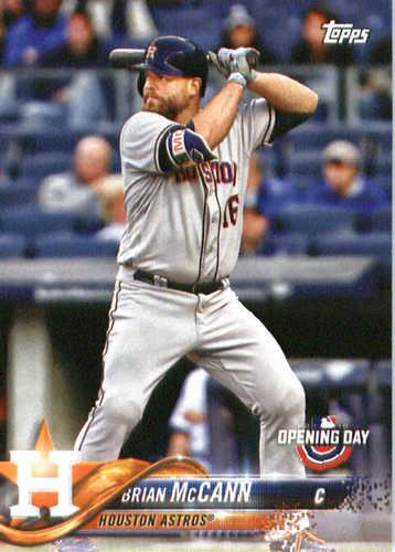 Photo of 2018 Topps Opening Day #164 Brian McCann
