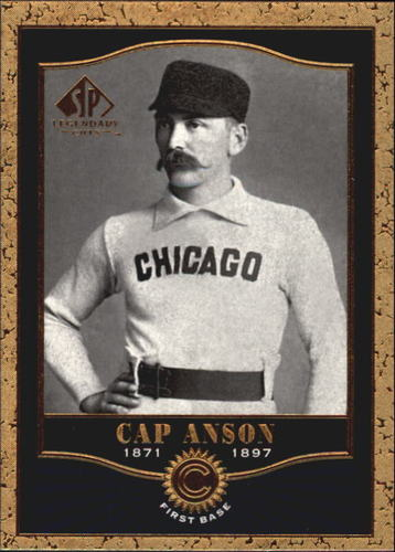Photo of 2001 SP Legendary Cuts #18 Cap Anson Hall of Fame Class of 1939