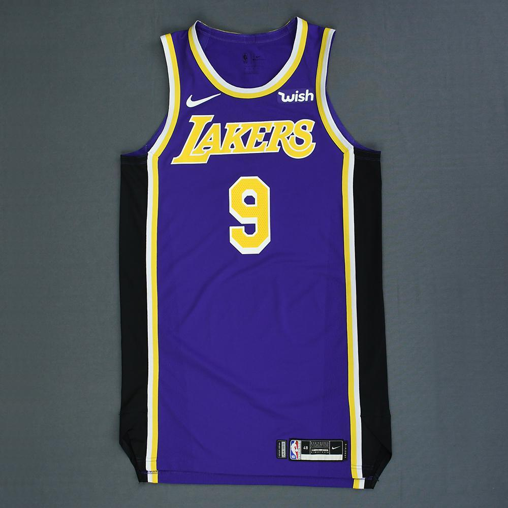 reputable site 0b34a 238fb Rajon Rondo - Los Angeles Lakers - Game-Issued Statement ...