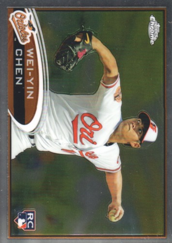 Photo of 2012 Topps Chrome #188 Wei-Yin Chen RC