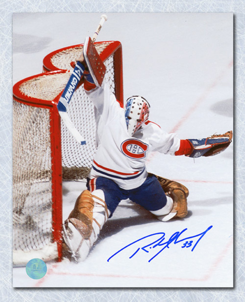 Richard Sevigny Montreal Canadiens Autographed Goalie 8x10 Photo