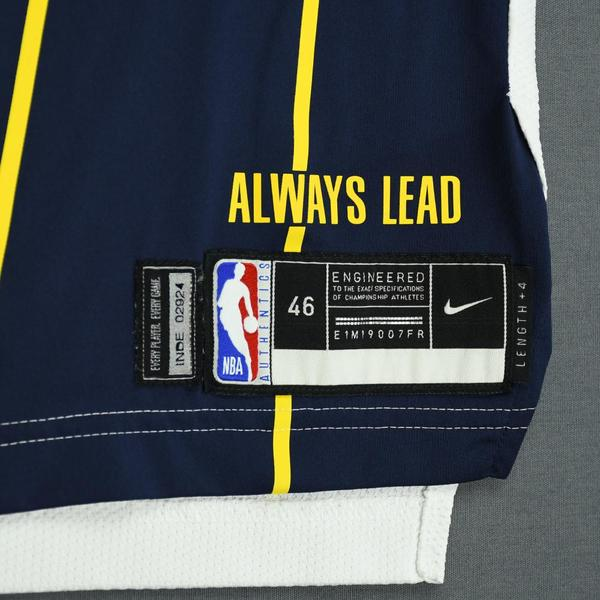 23b0909f2b92 Darren Collison - Indiana Pacers - Game-Worn Earned Edition Jersey - 2019  Playoffs. Current Bid   250.00