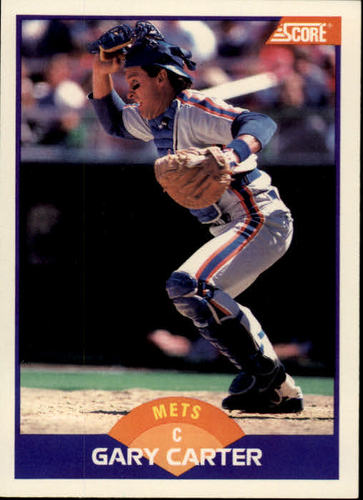 Photo of 1989 Score #240 Gary Carter