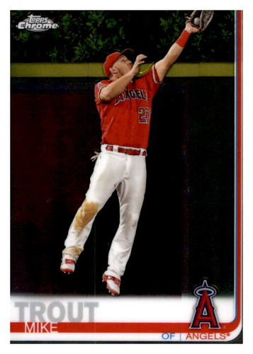 Photo of 2019 Topps Chrome #200 Mike Trout
