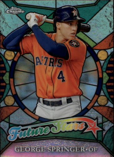 Photo of 2016 Topps Chrome Future Stars #FS17 George Springer