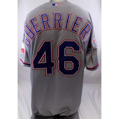 Photo of Grey Game-Used Jersey - Taylor Guerrieri - 9/5/19