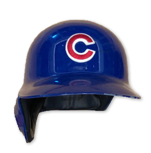 Photo of Kyle Schwarber Team-Issued Batting Helmet -- 2019 Season -- Size 7 1/2