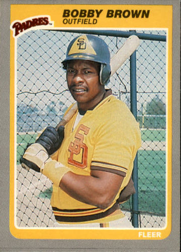 Photo of 1985 Fleer #28 Bobby Brown