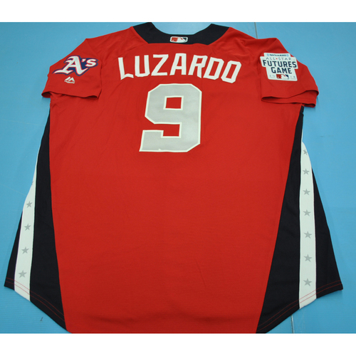 Photo of 2018 Futures Game - Jesus Luzardo Batting Practice Worn Jersey