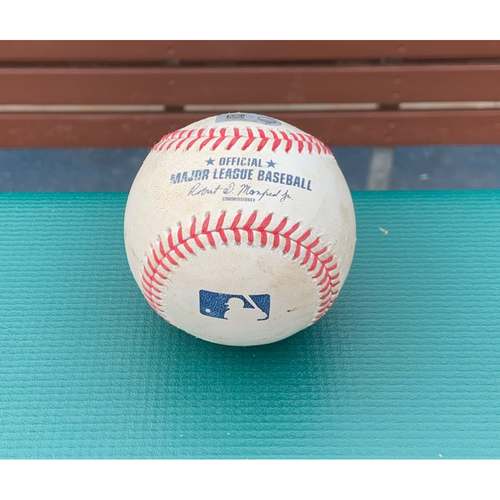 Photo of 2021 Phillies Game-Used Baseball - Didi Gregorius Home Run - 4/6/21 vs. NYM