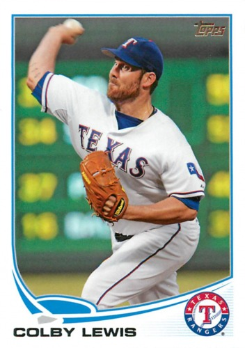 Photo of 2013 Topps #248 Colby Lewis
