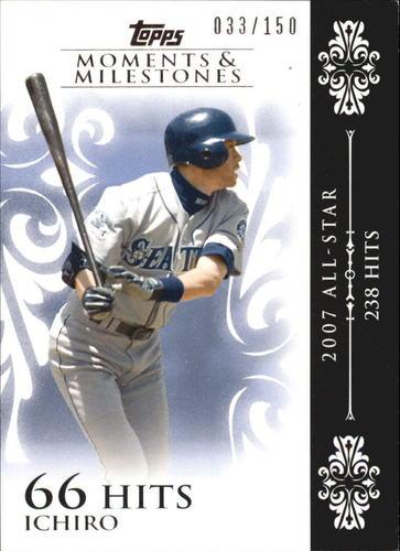 Photo of 2008 Topps Moments and Milestones #63-66 Ichiro Suzuki