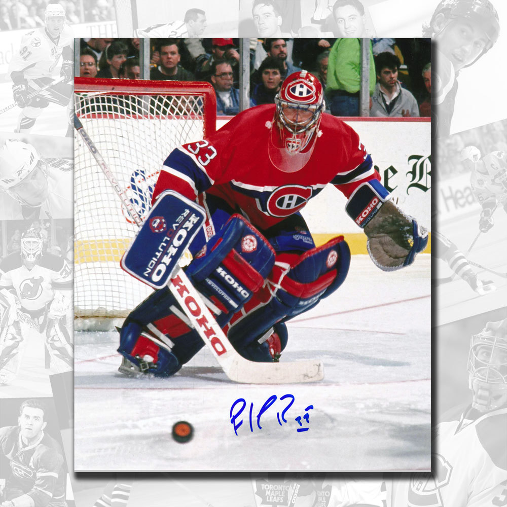 Patrick Roy Montreal Canadiens Autographed 8x10