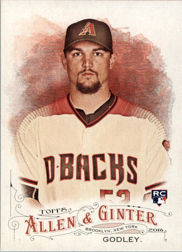 Photo of 2016 Topps Allen and Ginter #330 Zack Godley RC