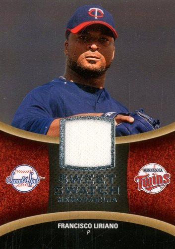 Photo of 2008 Sweet Spot Swatches #SFL Francisco Liriano