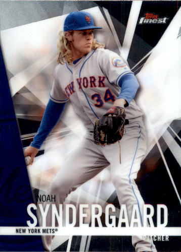 Photo of 2017 Finest #80 Noah Syndergaard