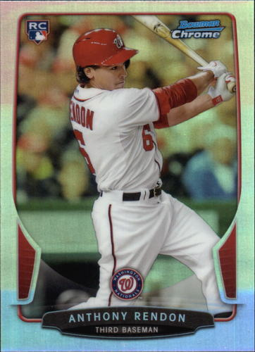 Photo of 2013 Bowman Chrome Refractors #97 Anthony Rendon
